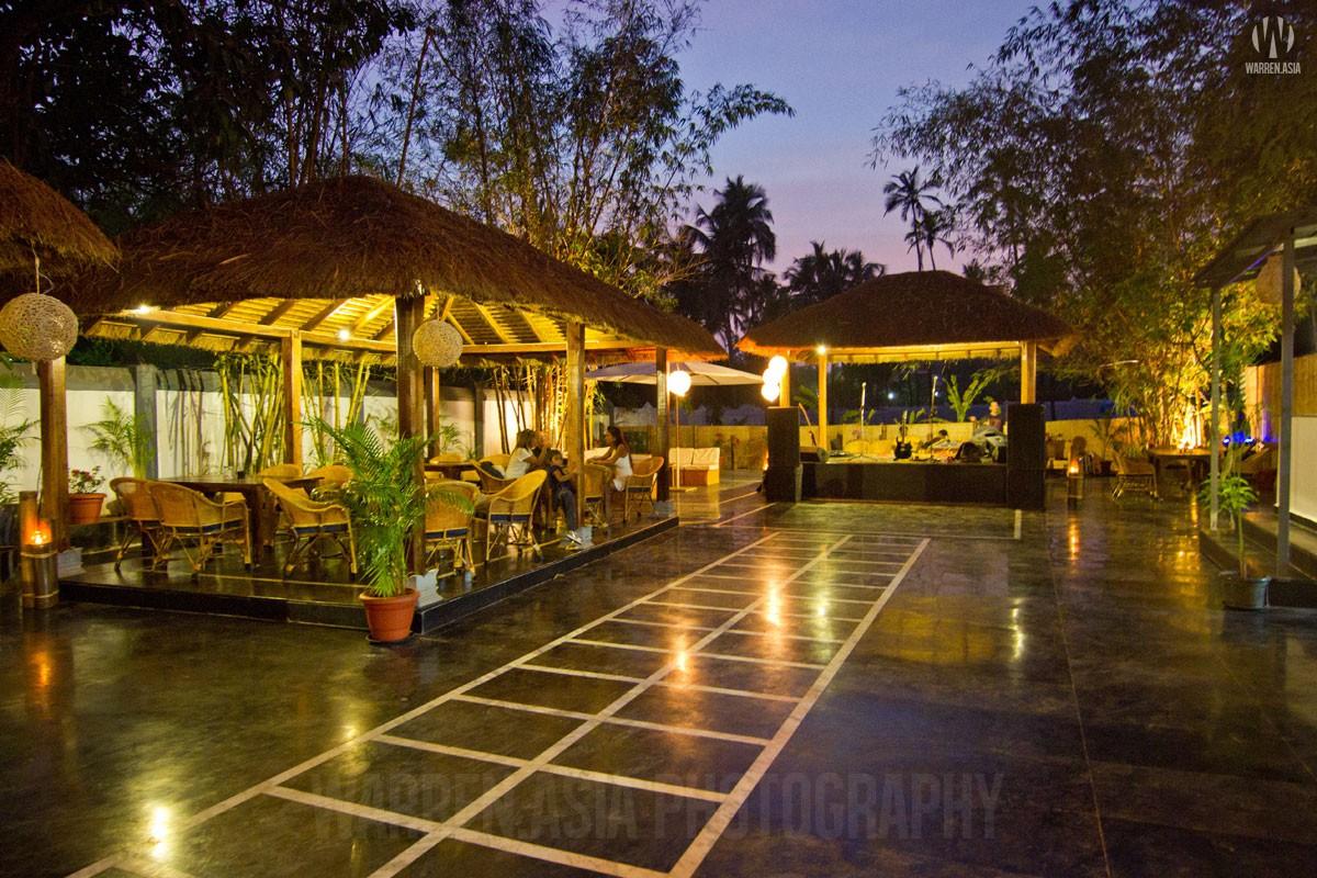 Architectural Photography - Zorba Beer Garden, Anjuna - Goa