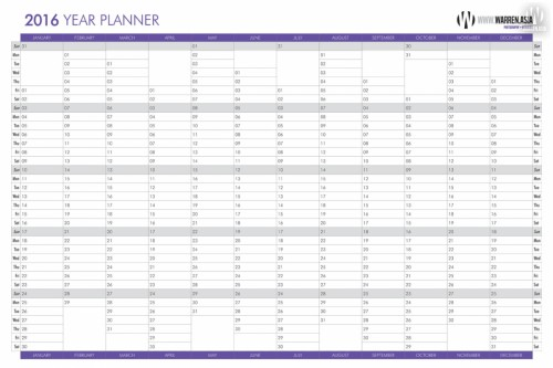 Free Wall Planner Download